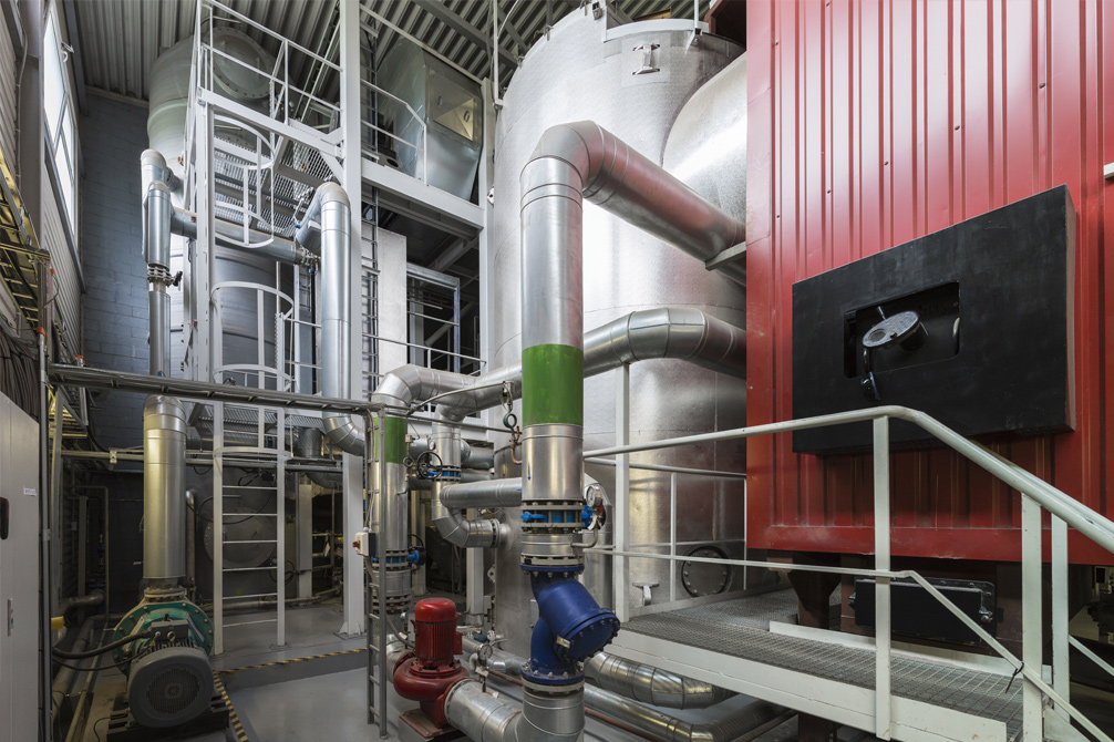 District Heating CHP engine