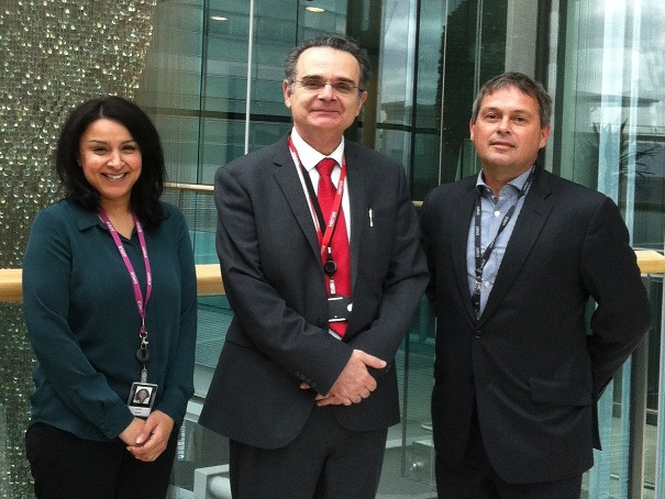 Cllr Apak visiting the Wellcome facilities