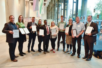 Winners of Camden Sustainability Business Awards 2017